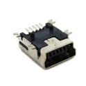 USB MiniB 5- Pin Female SMD