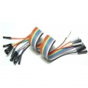Female/Female Jumper Wires 20cm 10pieces